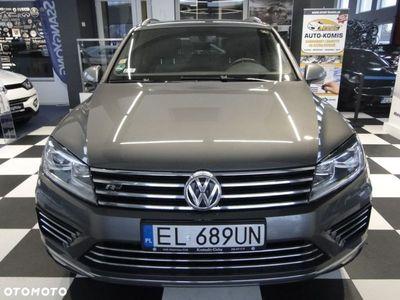 używany VW Touareg II Salon.pl*II właś*ks.serw*R-line*automat*