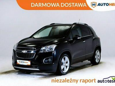 używany Chevrolet Trax DARMOWA DOSTAWA, 1 Właściciel, Półskóra, PDC, LT
