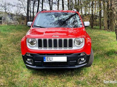 używany Jeep Renegade 140KM Limited Bezwypadkowy ASO Pierwszy Wł.