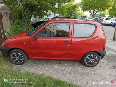 używany Fiat Seicento 2003 silnik 1.1 benzyna i LPG