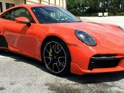 używany Porsche 911S ORANGE 2021 8 CYLINDER BENZ. 450KM 40KM