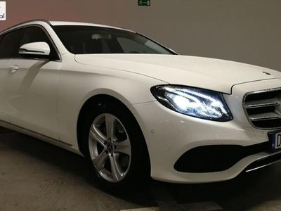 used Mercedes 220 klasa E 2dm3 194KM 2018r. 35 000kmT LED/Navi/Avantgarde Vat23%