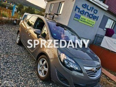 używany Opel Meriva 1.7dm 131KM 2011r. 94 030km