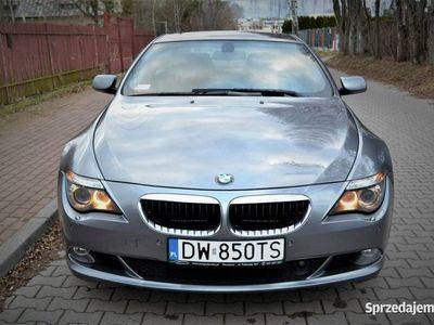 używany BMW 635 3dm 330KM 2007r. 134 000km