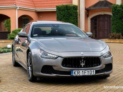 używany Maserati Ghibli 3dm 411KM 2017r. 19 000km