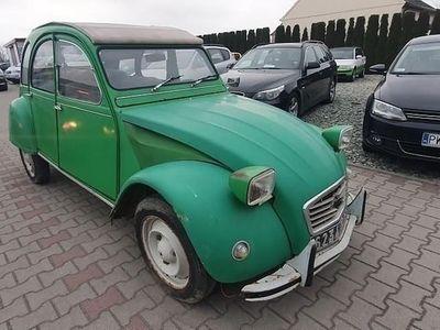 używany Citroën 2CV 2CV6 Zabytek klasysk z dokumentami