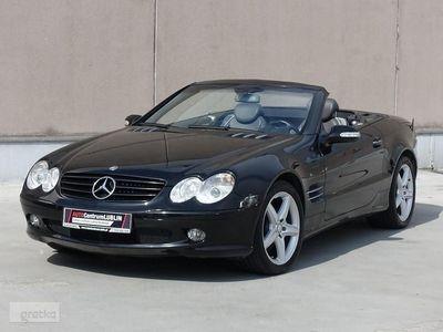 używany Mercedes SL500 Klasa SL R230 500V8 306KM/Szwajcaria/Nawigacja/Pełny Serwis ASO/TOP Stan!!
