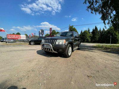 używany Jeep Grand Cherokee Bardzo bogate wyposażenie, 4x4, Hak, Kam