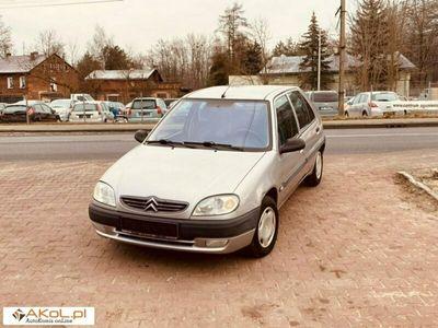 używany Citroën Saxo 1.4dm 75KM 2001r. 139 321km