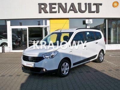 używany Dacia Lodgy 1.6dm3 102KM 2016r. 42 000km DUŻY VAN, Polski Salon, Jeden Właściciel, Benzyna 1,6, FV VAT ! ! !