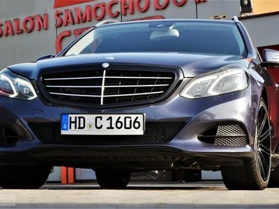 używany Mercedes 350 Klasa E W212CDi Webasto Multikontury Full LED navi