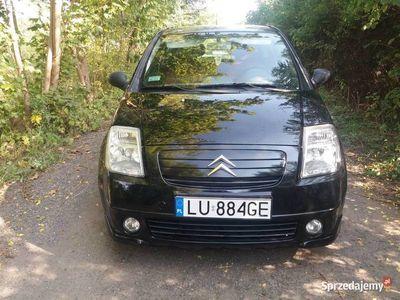 używany Citroën C2 benzyna zamienie, klima, dopłata, zamiana