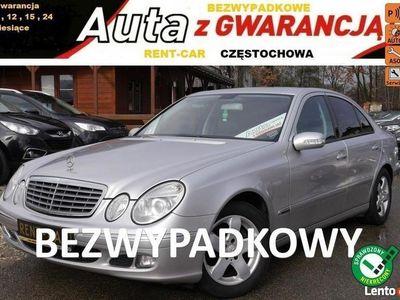 używany Mercedes E220 W212 Bezwypadkowy Klima Serwis GW24M