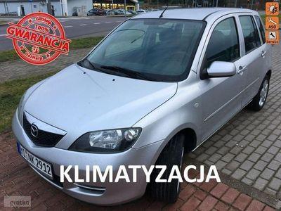 używany Mazda 2 1.4dm 80KM 2005r. 169 000km