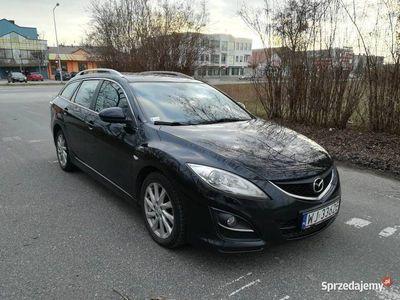 używany Mazda 6 2.2 CITD Czarna Kombi - Diesel Alu, Wypas