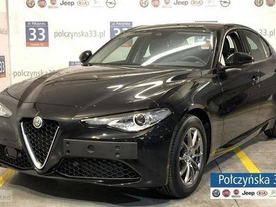 używany Alfa Romeo Giulia Super 2.0 200KM AT8 | Czarny VULCANO | Asystent kierowcy + | CARPLAY