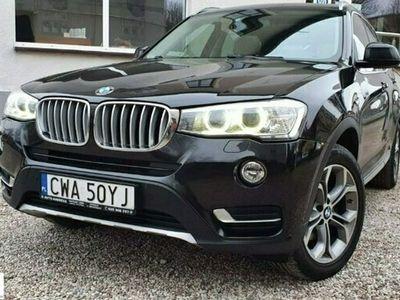 używany BMW X3 2dm 190KM 2014r. 132 000km