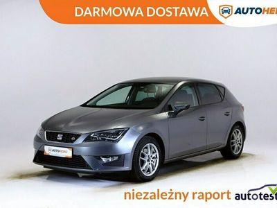 używany Seat Leon DARMOWA DOSTAWA, FR, 150KM, Navi, Klima auto, Hist. Serwisowa III (2012-)