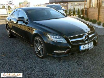 używany Mercedes 350 CLS 2.9dm3 266KM 2014r. 59 000kmCDI automat 266PS