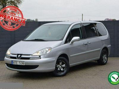 używany Peugeot 807 2.2 Benzyna 158KM 7-Miejsc 40zdjęć#Bogate wyposażenie