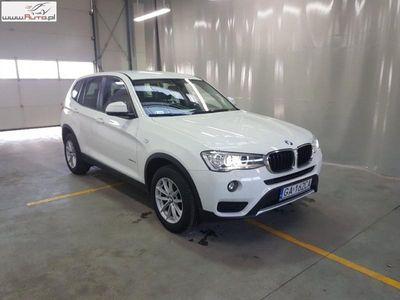 used BMW X3 X3 2dm3 150KM 2017r. 31 688km X 3 [F25] 14-17,sDrive18d Advantage aut