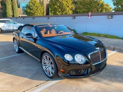 używany Bentley Continental Continental II [GT]GTC V8 4.0 benz. 500KM autom. AWD cabrio 2013