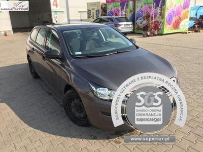 brugt Peugeot 308 308 1.6dm3 115KM 2015r. 173 491km1.6e-HDI, FV 23%, Gwarancja!!