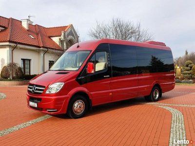 używany Mercedes Sprinter 519 3.0 CDi Ful OPCJA AUTOCUBY VIP LINE 9-osobowy do 3.5tony KAT B