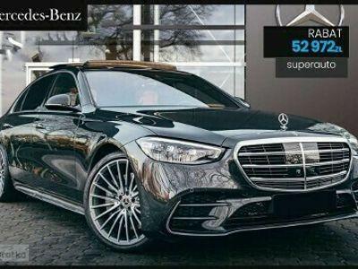 używany Mercedes S400 Klasa S W222d 4-Matic L 9G-TRONIC AMG   Business Class