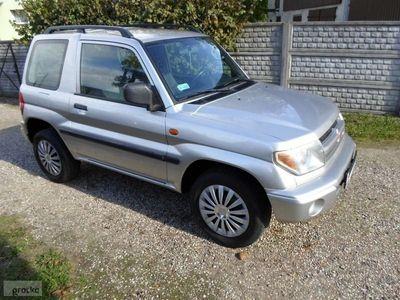 used Mitsubishi Pajero III Pinin,130KM,Klima! Airbag x 2!Zadbany!Napęd4x4