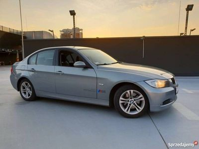 używany BMW 320 e90 d navi skóra