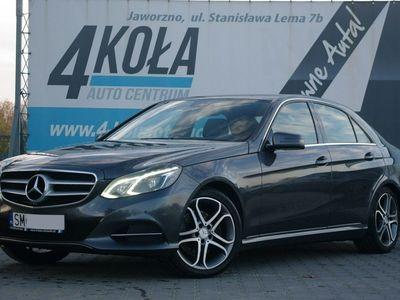 używany Mercedes E250 2.2dm 204KM 2013r. 164 000km
