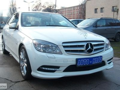 używany Mercedes 170 Klasa C W204 Salon Pl, 1 wł, klima, komp, automat,KM, Łódź