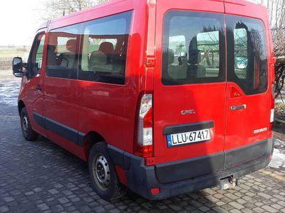 używany Opel Movano 9-osobowy 2.3cdti 150km 2011r Zadbany