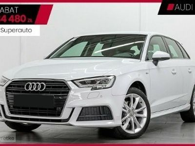 używany Audi A3 Sportback A3 III 1.5 35TFSI (150KM) S-TRONIC | S-Line Selection + Comfor
