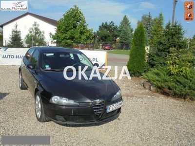 brugt Alfa Romeo 147 1.9dm3 150KM 2006r. 198 000km Sprowadzony zarejestrowany w pełni sprawny wyposażony !