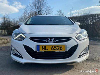 używany Hyundai i40 1.6 benz 135KM bezwypadkowy LED climatronic igła