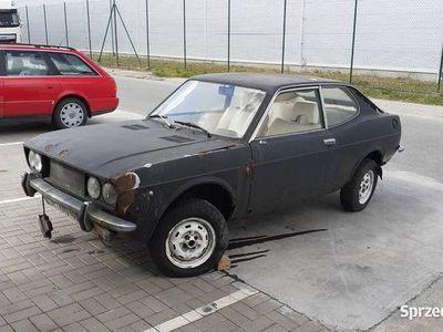 używany Fiat Coupé 128 sport2 sztuki zarejestrowany rarytas