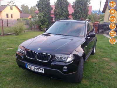 używany BMW X3 2.0 XDRIVE Full Opcja Xenon Panorma 161 tys km Serwis I Wł Bezwypadek automatyczna klima.