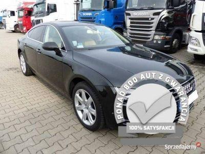 używany Audi A7 Sportback 3.0 TDI QUATTRO 2013r., Alu, Nav