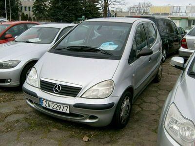 używany Mercedes A170 95KM manualna skrzynia biegów