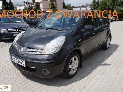 używany Nissan Note 1.4dm 88KM 2008r. 190 000km
