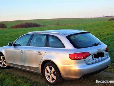 używany Audi A4 B8 2010 1.8 TFSi Klima Xsenon LED Srebrna Perła