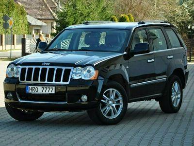 używany Jeep Grand Cherokee 3,0 D 217KM 4x4 Overland Xenon Skóry Navi Alufelgi PDC Serwis z DE !! III (2005-2010)