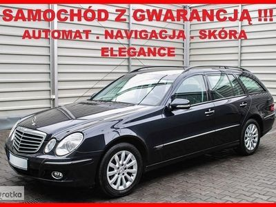 brugt Mercedes 320 Klasa E W211ELEGANCE + LIFTING + Automat + Navi + Skóra + Klimatronik !!!