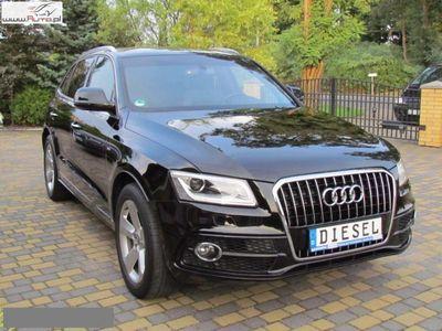 używany Audi Q5 2dm3 190KM 2016r. 150 332km Fv23% LEDY NAVI 190 km Alu18 S line sport 4X4 S LINE SKÓRA Xenon