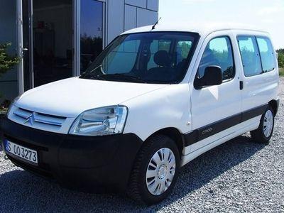 used Citroën Berlingo II 1.6 HDi 75KM 2008r. 187 tys. km. Klimatyzacja, bezwypadkowy, hak