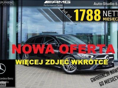 """używany Mercedes CLA200 Shooting Brake Klasa 200 AMG Kamera Tempomat WyśIC10,25"""""""
