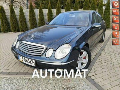 używany Mercedes E320 3.2 204Km Xenon Navi Skóra PDC Bez Wkładu finansowego Śliczny W211 (2002-2009)