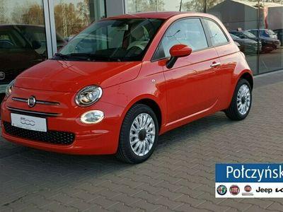 używany Fiat 500 1,0 Hybrid 70 KM | Lounge | Pak.City |Czerwony Passione |2021